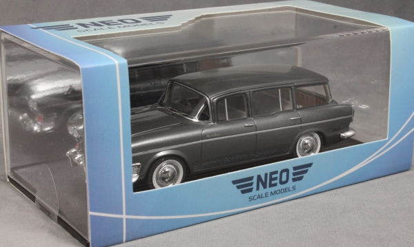 #46330 Neo Humber Super Snipe Estate-metálico-gris-RHD 1963-1:43