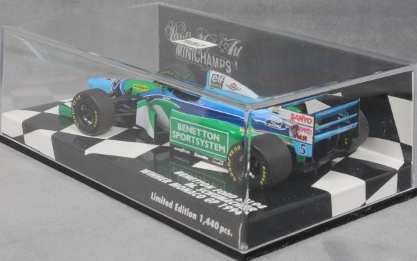 1:43 MC Benetton Ford B194 Winner GP Monaco//Champion 1994 Schumacher