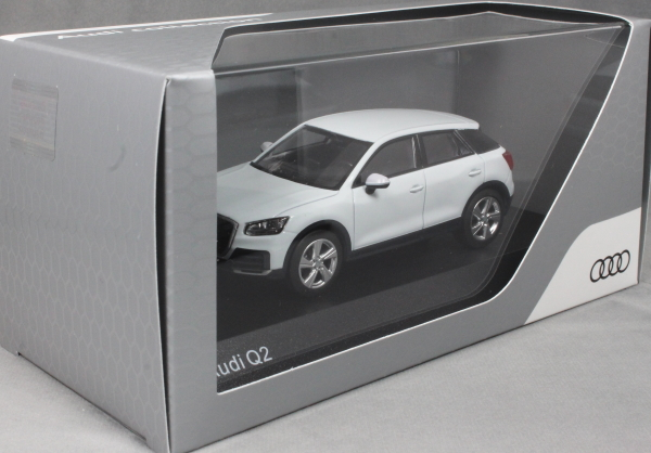 Audi Q2 in Glacier White