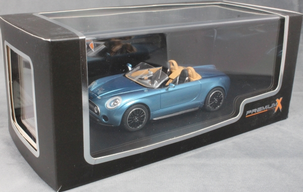 Mini Superleggera Vision Concept Car in Blue 2014