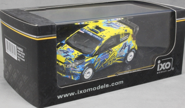 IXO RAM552 1//43 Ford Fiesta RS WRC Rally Finland 2013 Andersson Axelsson Diecast