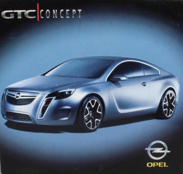 Opel Gtc Concept Car Geneva 2007 Schuco Opel Gtc Concept