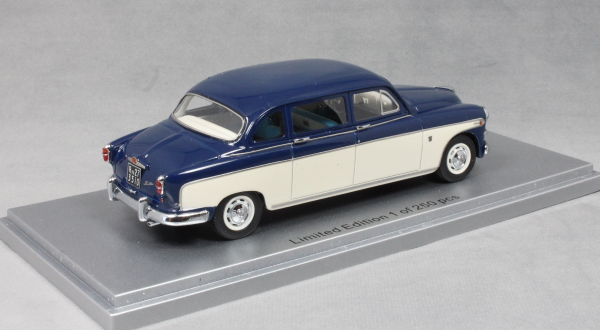 Fiat 1400B by Francis Lombardi in Blue and Cream 1956