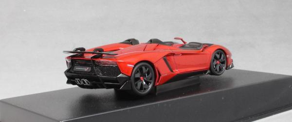 1:43 Autoart Lamborghini Aventador J roadster 2012 redmetallic