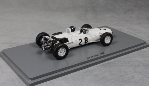 Pedro Rodriguez 1//43 Scale Spark SF122 Matra MS5 #20 Reims F2 1966