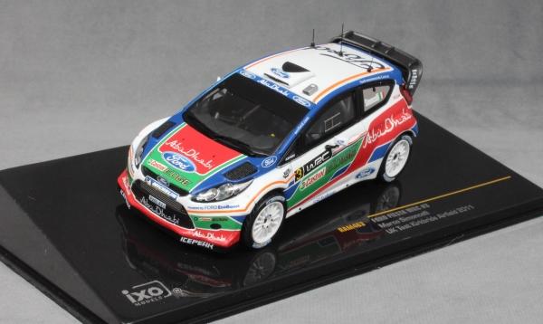 Rally Test Kirkbride Simoncelli 2011 1:43 Ixo Ford Fiesta WRC #3