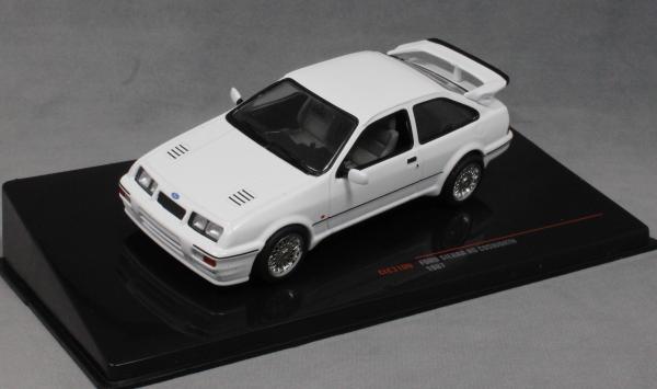 Ford England Sierra Rs Cosworth 1987 White IXO 1:43 CLC310N
