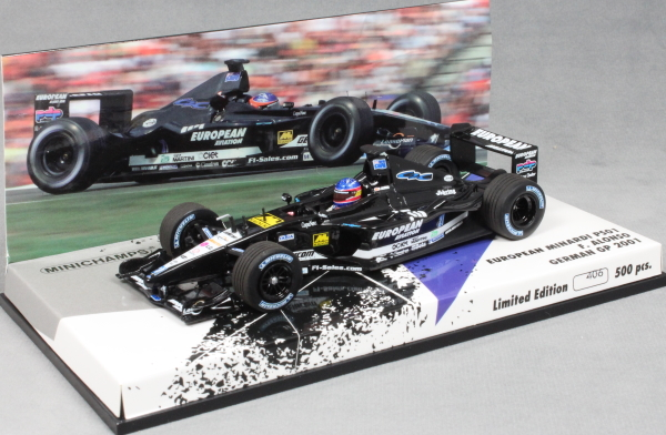 Minardi PS01 German Grand Prix 2001 Fernando Alonso