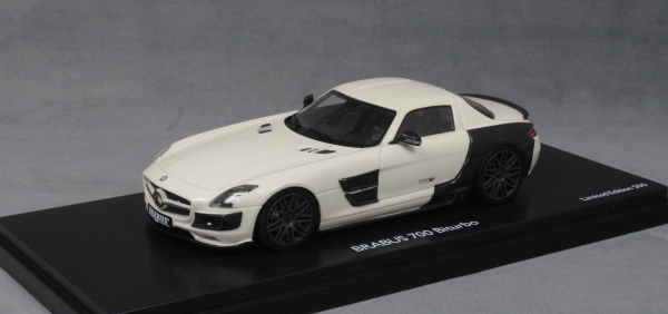 Brabus 700 Biturbo (Mercedes-Benz SLS) in White