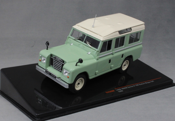 Land Rover Series II 109 in Light Green 1958