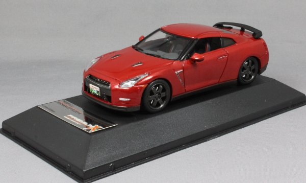 Nissan GT-R Black Edition in Red 2014