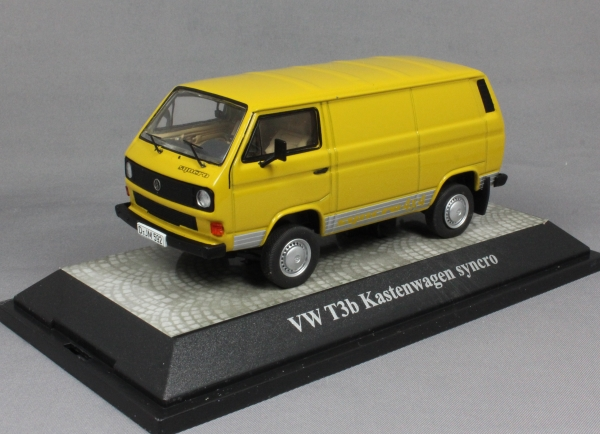 Volkswagen T3b Syncro in Yellow