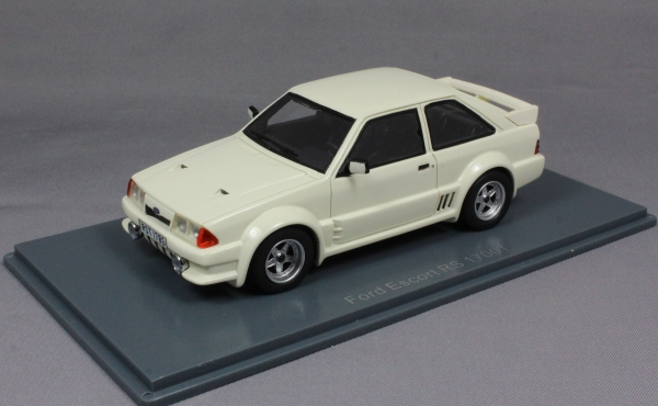 Ford Escort RS 1700T in White 1980