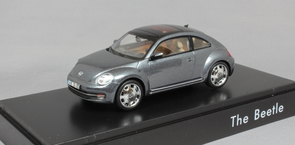 Volkswagen Beetle in Platinum Grey Metallic