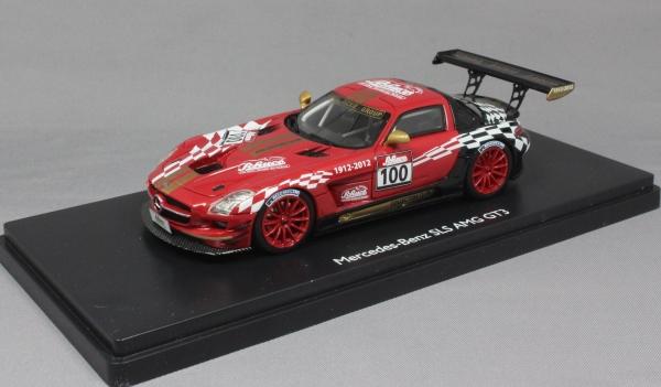 Mercedes benz sls amg gt3 2012 club model schuco for Mercedes benz sls amg gt3 price