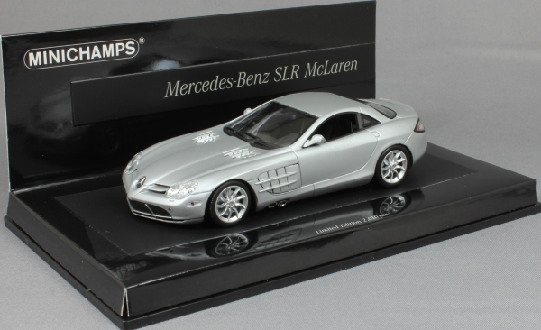 Mercedes-Benz SLR McLaren in Matt Silver 2004