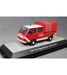 Volkswagen T3a Double Cab Canvas Pickup German Fire