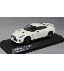 Nissan GT-R R35 in Brilliant White Pearl 2017