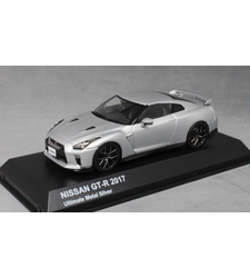 Nissan GT-R R35 in Silver Metallic 2017