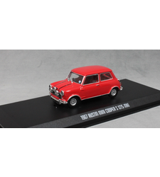 The Italian Job Mini Cooper S 1275 3 Car Set Red White and Blue