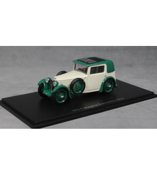 MG F Magna Salonette in White and Green 1933