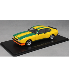 Ford Capri MkII 3.0S X-Pack in Yellow and Green 1976