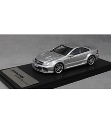 Mercedes-Benz SL65 AMG Black Series in Silver