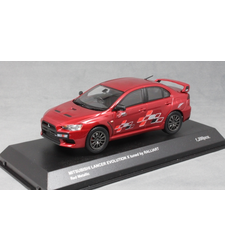 Mitsubishi Lancer Evo X Ralliart in Red