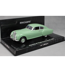 Bentley R-Type Continental in Light Green 1955