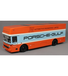 Mercedes O 317 Porsche Gulf Racing Team Transporter