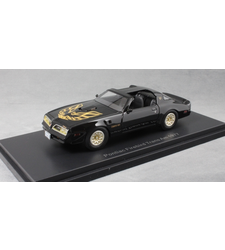 Pontiac Firebird Trans Am in Black 1977