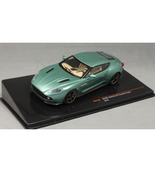 Aston Martin V12 Vanquish Zagato in Green Metallic 2016