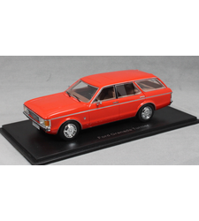 Ford Granada Estate MkI in Red 1972