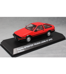 Toyota Corolla Sprinter Trueno AE86 in Red