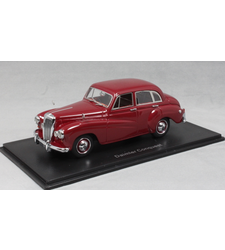 Daimler Conquest in Dark Red 1953