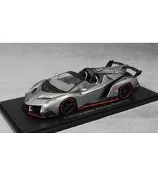 Lamborghini Veneno Roadster in Grey 2014