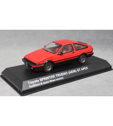 Toyota Corolla Sprinter Trueno AE86 in Red (8 spoke wheels)