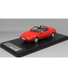 Volvo 480 Turbo Cabriolet in Red 1990