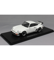 Porsche 911 930 Turbo in White 1975