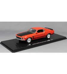 Ford Mustang Boss 302 in Calypso Coral Red 1969