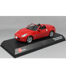 Nissan 350Z Fairlady Z Roadster in Burning Red 2007