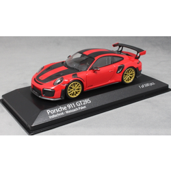 Porsche 911 GT2 RS Weissach Packet in Red 2018