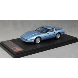 Chevrolet Corvette C4 in Blue Metallic 1984