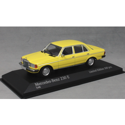 Mercedes-Benz 230E W123 in Yellow 1982