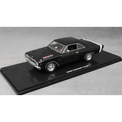 Dodge Dart in Black 1968