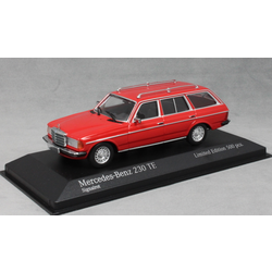 Mercedes-Benz 230TE W123 in Signal Red 1982