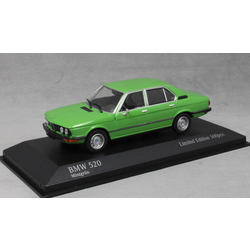 BMW 520 in Mint Green 1974