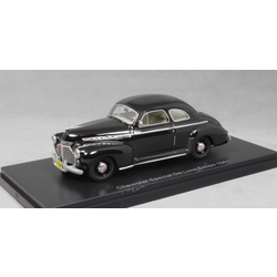 Chevrolet Special De Luxe Coupe in Black 1941