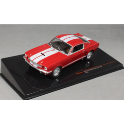 Ford Mustang Shelby GT350 in Red and White 1965